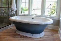 Custom-Surround-Claw-Bathtub-&-Hardwood-Flooring
