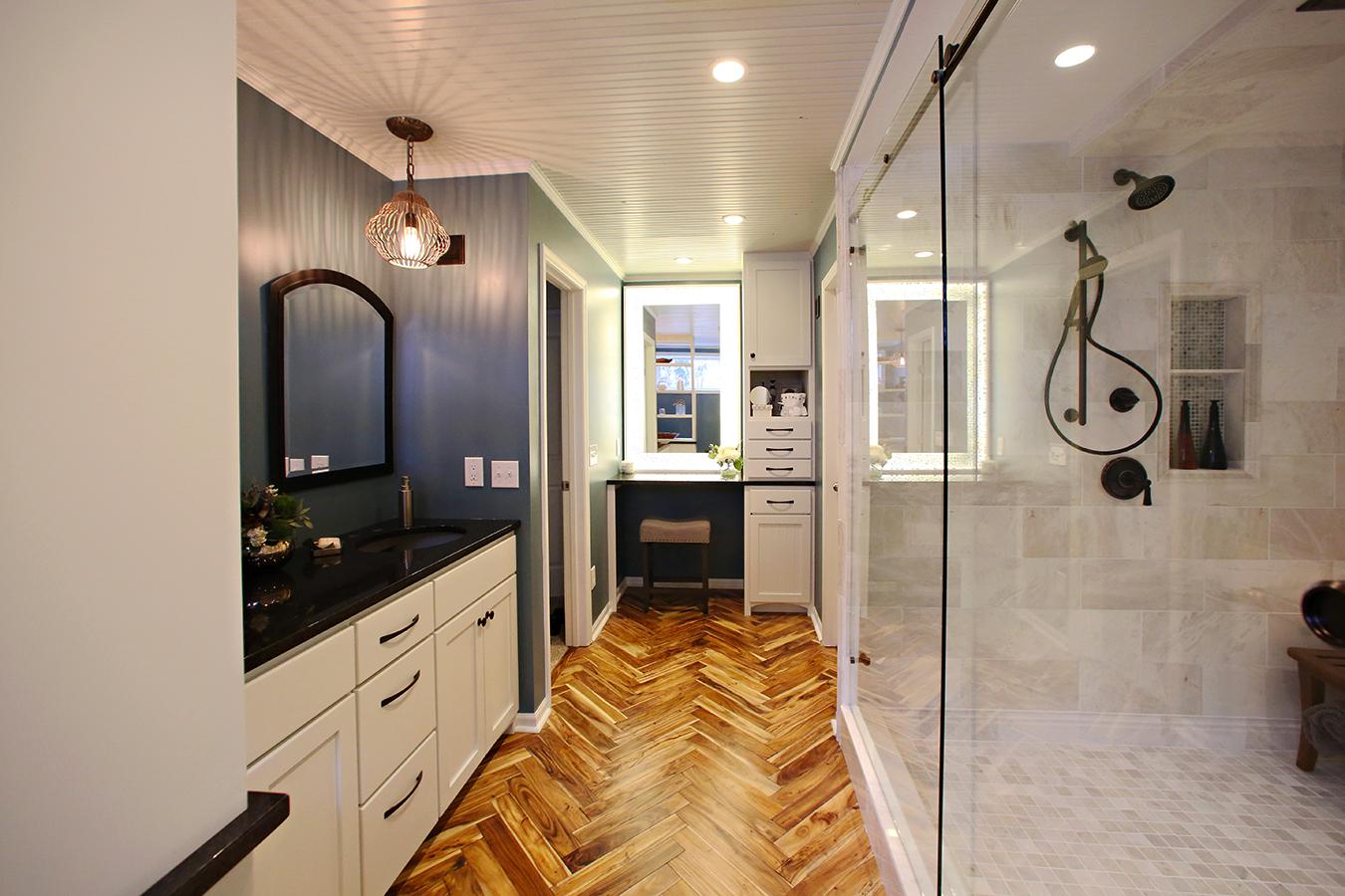 Coastal bathroom designs