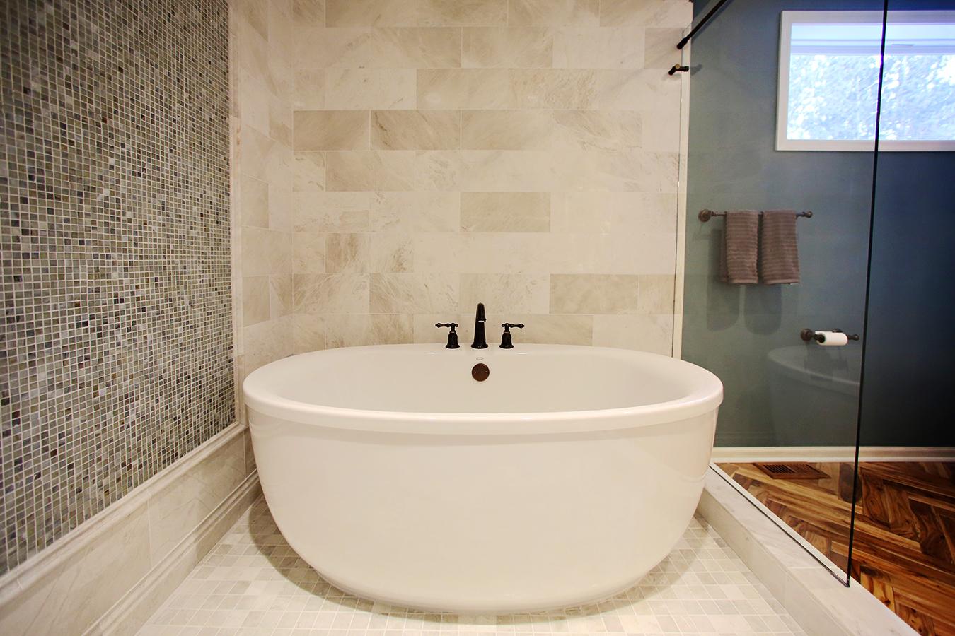 Walk In Shower Full Bathtub