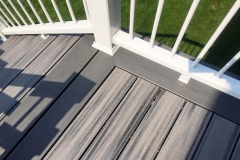 Composite Decking Close Up Finished