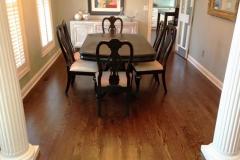 Hardwood Flooring Dining Room Area