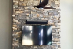 Chimney & Fireplace Entertainment Area
