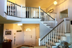 Remodeled Staircase & Banister