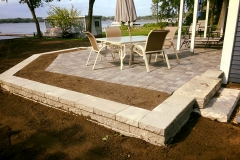 Lakeview Patio & Retaining Wall 2